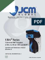 UBA JCM Service Manual