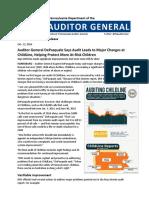 PA ChildLine Audit 10-12-16