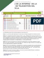 Descripción de La Interfaz de La Plataforma de Telegestión Del Sistema Samcla