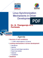 Linux Synchronization Mechanisms in Driver Development Vision2008