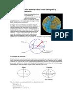 Lo Que Todo El Mundo Debería Saber Sobre Cartografía Y Sistemas De Coordenadas