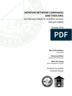 Portland Taxi TNC Audit