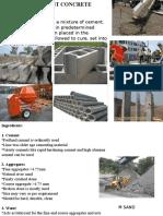 Cement Concrete - Unit-II (1)
