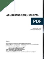 Administración Municipal en el Estado de México