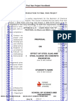 Final Year Project Handbook