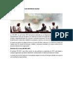 Sistema de Gestión de Calidad | ISO 9001
