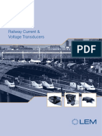 Railway Current Voltage Transducers