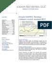 GOOG Updated Earnings Estimates 032307 JS