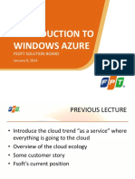 Lecture 2.1 Introduction to Windows Azure 25sl