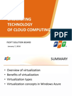 Lecture 1.3 Underlying Technology of Cloud Computing
