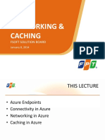 Lecture 7.1 Networking and Caching