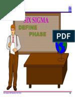 2.0 Six Sigma Define