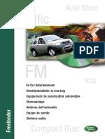 Freelander 1 MY01 - In-Car Entertainment (LRL0347ENG)