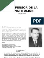 El Defensor de La Constituciòn, Carl Schmitt