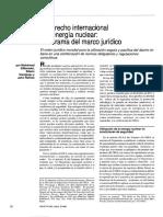 El Derecho Iternacional y La Energía Nuclear