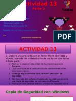 Actividad 13 Parte 2 PLATA