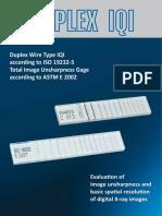 Duplex IQI