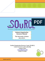 StudentOrganizationReSOuRCeManual Final August2014