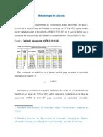 Metodología de Cálculo Viscosimetría