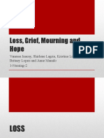 Loss, Grief, Mourning and Hope