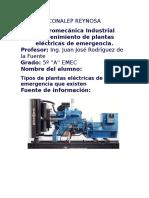 Planta Electrica. informe.