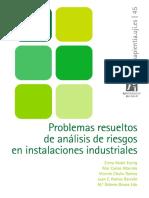 Problemas Resueltos de Análisis de Riesgos en Instalaciones Industriales