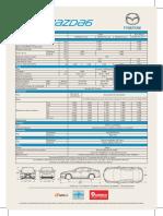 Ficha New Mazda6