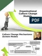 organizationalculturechangemodels-121230134211-phpapp01