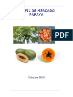 Perfil de Mercado Papaya