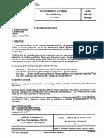 NBR-5465 Relés - Terminilogia