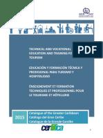 Catálogo de Educación y Formación Técnica y Profesional (EFTP) de el Gran Caribe