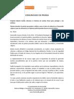 10-10-16 Propone Maloro Acosta Reformas Al Sistema de Justicia Penal Para Proteger a Las Víctimas. C-78216