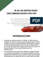 Presentacion Selección de Un Motor Para Una Embarcacion Tipo
