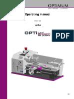 TU2004V Manual