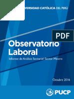 Sector Minero 2016