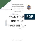 Informe de Maqueta Concreto
