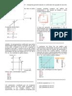 D7 – Interpretar Geometricamente Os Coeficientes Da Equação de Uma Reta.