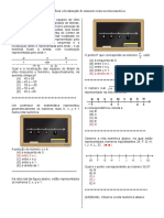D14 – Identificar a Localização de Números Reais Na Reta Numérica