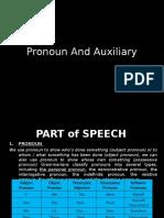 1. Pronoun and Auxilliary