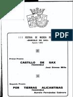 Castillo de Sax (Jose Gomez Milla)