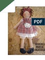 Boneca Apostilas Digitais Dani Fressato