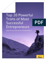 Top 20 Powerful Traits of Most Successful Entrepreneurs - Guide