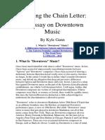Updown vs Downdown Music