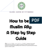 How to Be a Muslim Ally