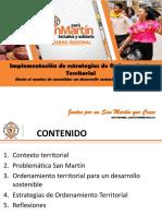 Ordenamiento Territorial San Martin Peru