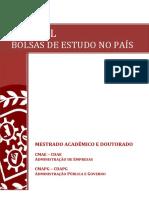 Manual de Concessão de Bolsas de Estudo No País 01 2015 Atualizado 0