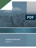 Informe de Inflación BCCR mayo 2010