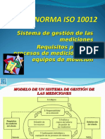 Norma Iso 10012
