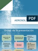 Presentación de Aerosolterapia