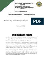 Cuenca Hidrográfica y Geomorfología